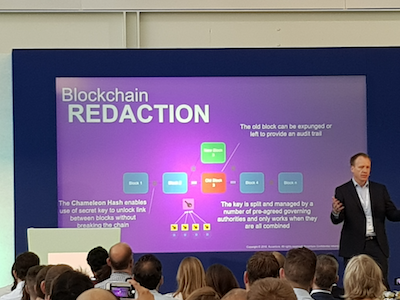 Blockchain Redaction