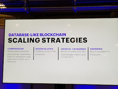 Database-like Blockchain